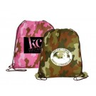 DRAWSTRING CAMO BACKPACK