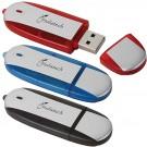 TWO TONE USB 2.O FLASH 1GB USB DRIVE