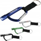 CARABINER FLASHLIGHT KEY TAG