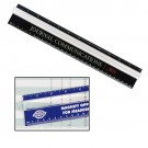 "PLASTIC 12"" VIEW RULER"