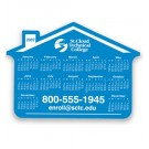 HOUSE SHAPE CALENDAR MAGNET