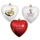 HEART SHAPE SHATTERPROOF ORNAMENT