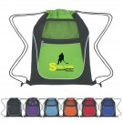 DRAWSTRING SPORT PACK WITH DUAL POCKETS
