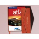 RAND MCNALLY FOLDOVER LEATHERETTE ATLAS