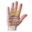 "HEALTH HAND SHAPE MAGNET 4-1/4"" x 6"""