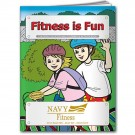 COLORING BOOK:FITNESS IS FUN