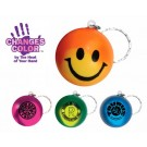MOOD SMILEY FACE KEY CHAIN 24 HR