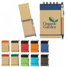 ECO FRIENDLY SPIRAL JOTTER AND PEN