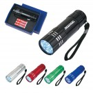 Aluminum LED Torch Flashlight With Strap