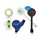4 Port USB Hub with LED Light