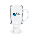 CLEAR 10 oz. IRISH COFFEE MUG