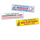 "BUMPER STICKER REMOVABLE 3-3/4"" x 15"""