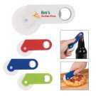 PIZZA CUTTER WITH BOTTLE OPENER