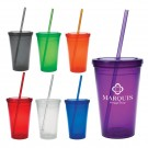 Economy Double Wall Tumbler 16 OZ.