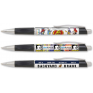 FULL COLOR PLASTIC PEN WITH GRIP