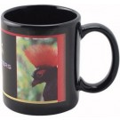 EXECUTIVE BLACK STONEWARE 11 oz. MUG