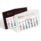 DESK LEATHERETTE CALENDAR