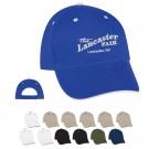 ELITE 6 PANEL EMBROIDERED CAP