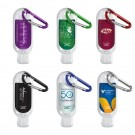 HAND SANITIZER WITH CARABINER 1.9 oz.